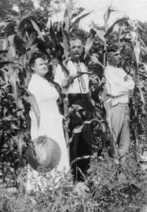 Elizabeth & Dan Fox, July 1920