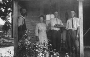 Daniel, Elizabeth, Harold & Cyril Fox